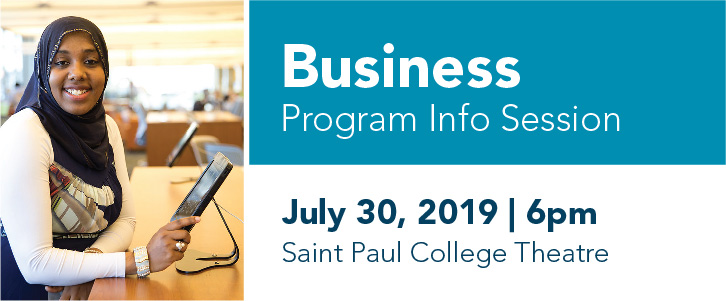 Business Program Info Session | Tuesday, July 30, 2019 | 6 pm