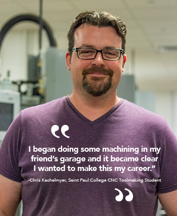 I began doing some machining in my friend's garage and it became clearI wanted to make this my career.""